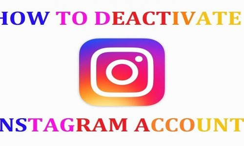 How to deactivate Instagram account temporarily