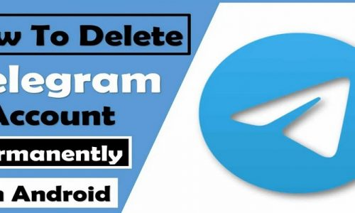 How to delete telegram account permanently step by step