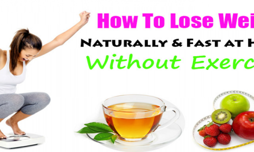 How to lose weight fast without exercise?