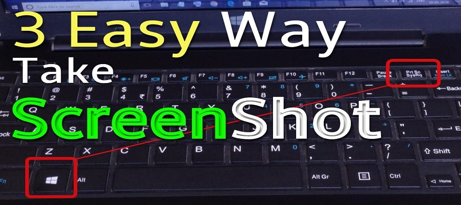 How to take screenshot in laptop or computer