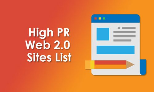 Top 200 High PR Web 2.0 Sites for Link Building [UPDATED]
