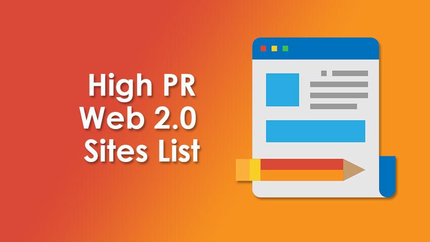 Web 2.0 Sites for Link Building