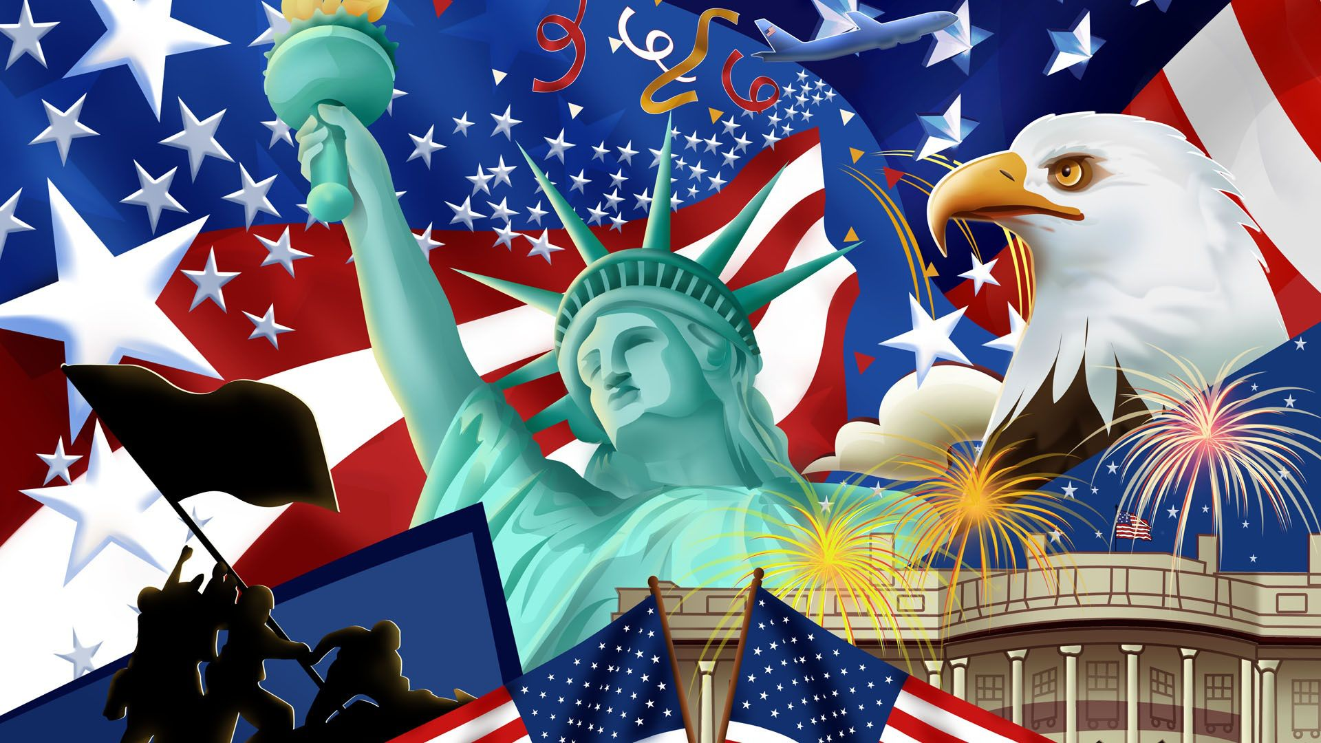 Fourth of July Wallpaper Independence Day United States