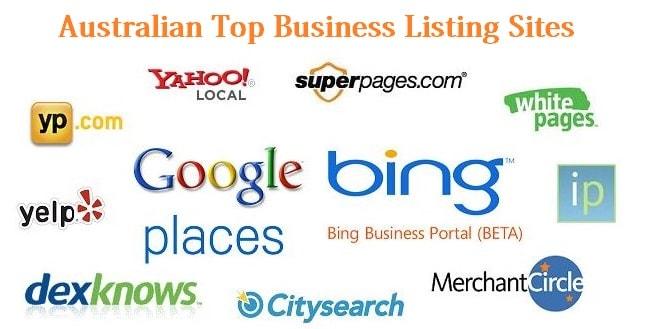 Free Australia Business Listing Sites List