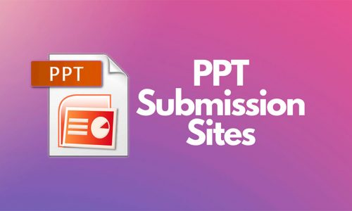 Best Free PPT PDF Submission DOC Posting Sites List USA