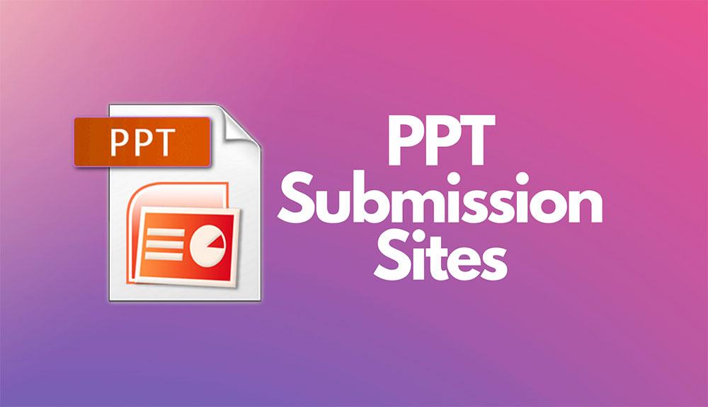 Free PPT PDF Submission DOC Posting Sites List USA
