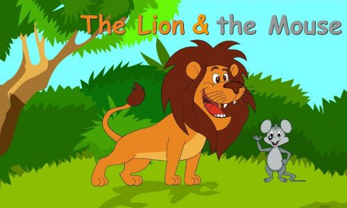 The Lion and the Mouse Story for Kids in English